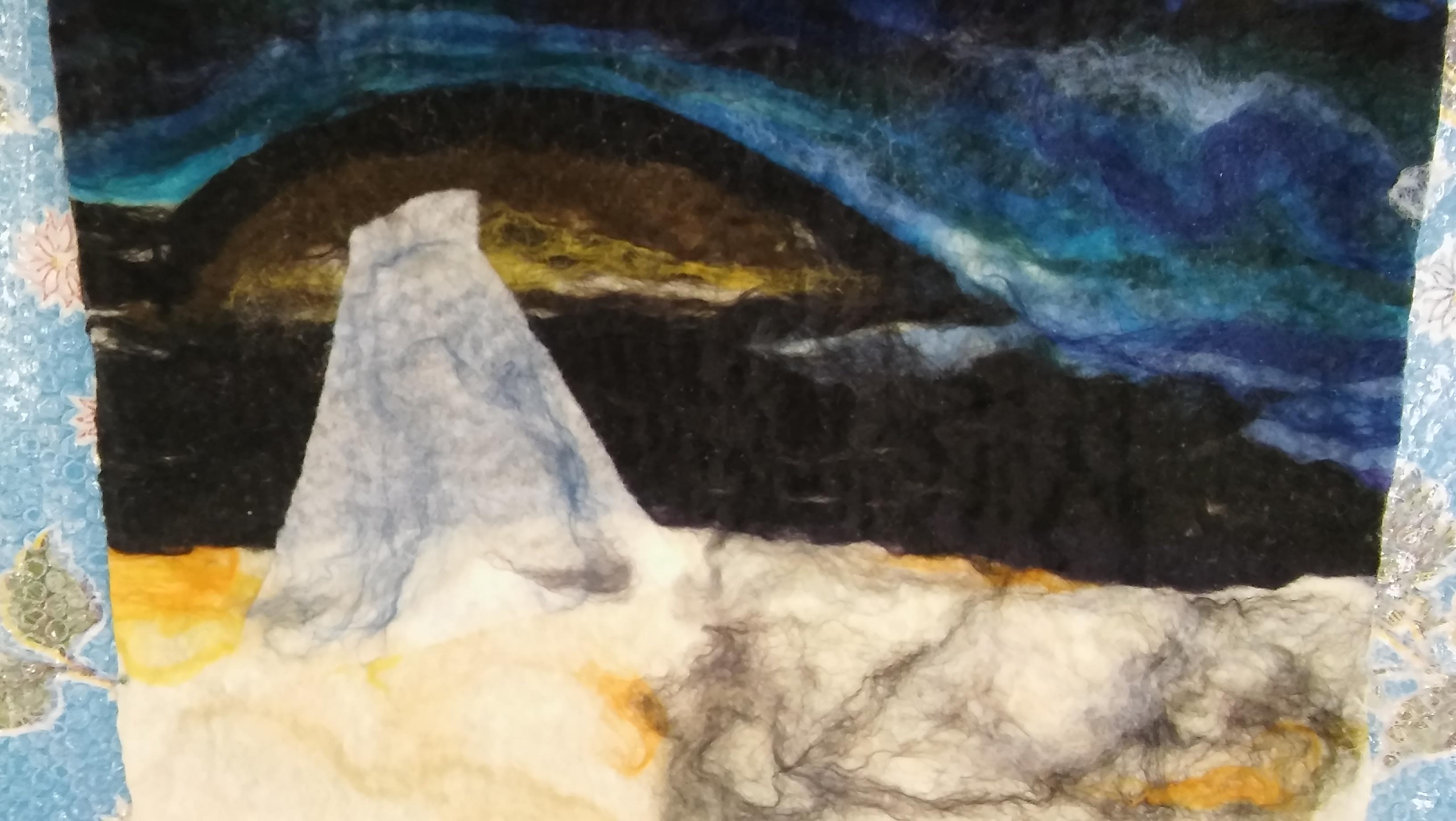 schilderen met wol